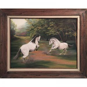 Ozarks Art Gallery | Gary Duncan - Andalusians at Play